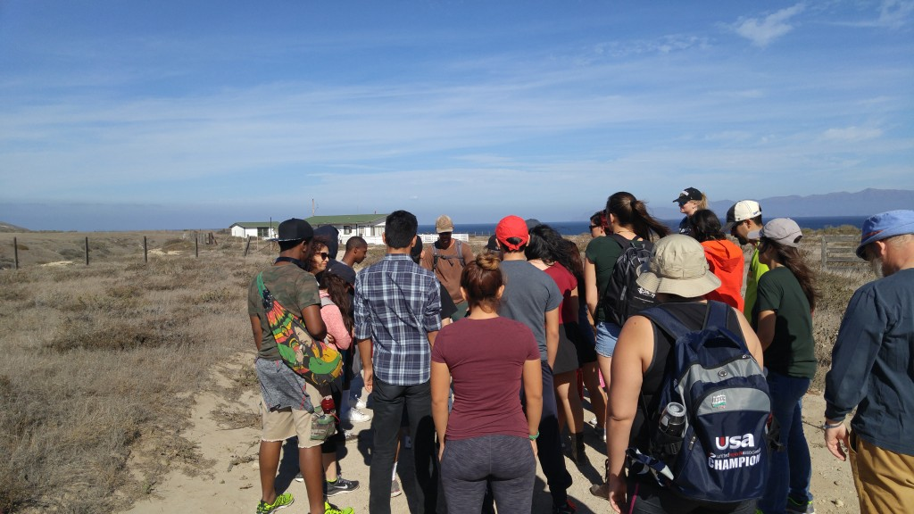 SURFers visited the Santa Rosa Island Research Station for a thinking and writing retreat.